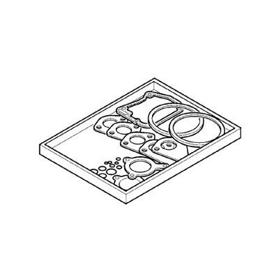 HATZ 01592801 комплект прокладок головки 1D90 1D90V