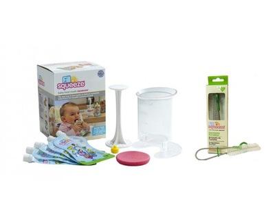Vyplňte ' Squeeze starter Set pre kŕmenie +