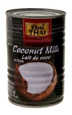 Молоко Кокосовое 400ml МОЛОЧКО 85% текст Real Thai