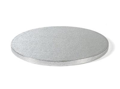 ПОДКЛАДКА ПОД ТОРТ ТОРТ серебро крупный 12 - 33 см