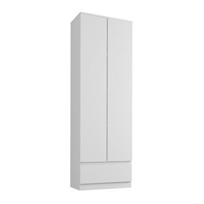шкаф стеллаж офисный забронировать номер 60см 2d 1sz белая B -4