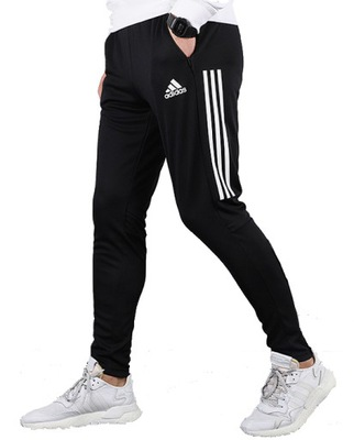 SPODNIE MĘSKIE RURKI dresy joggery bawełna BEŻ M