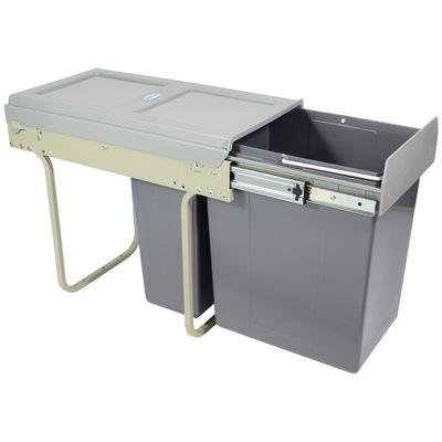 Ящик для мусора PRACTI ECO 300мм 1x20L+2x10L