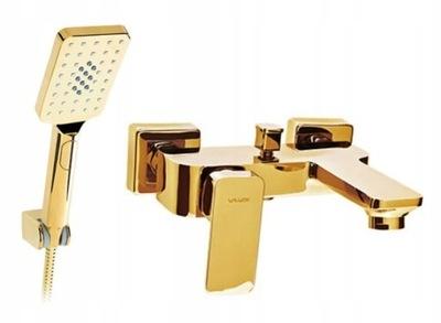 Loft Valvex Zlatý kúpeľ kohútik nastaviť zlato