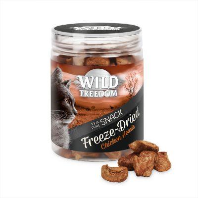 Wild Freedom Freeze-мокрая корм , сердца гусиных 3x45g