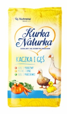 NUTRENA - лисички NATURKA КОРМ утка гусь 2 25кг