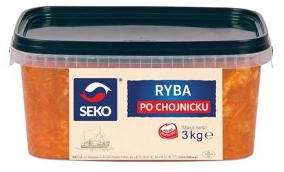 рыба после chojnicku обжаренные в соусе овощном Ноль ,5кг