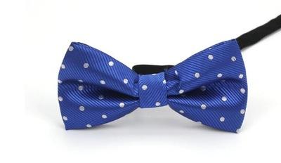 942ac49bc27f65 Chabrowa niebieska mucha męska do koszuli muszka 6703764829 - Allegro.pl
