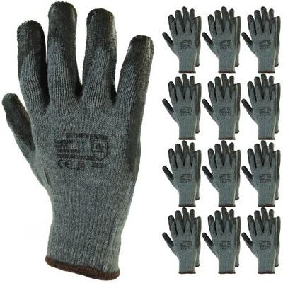 12 пар перчатки перчатки защитные рабочие года.10