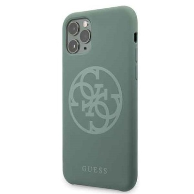 Etui do iPhone 11 Pro, Guess Silicone, pokrowiec