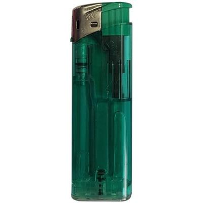 Зажигалка Пьезо Х.F . с Zaworkiem зеленый