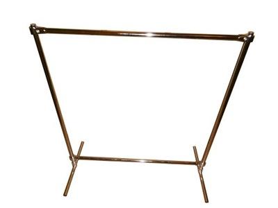 вешалка Стенд подходящий гардероб Хром 1 ,5x1,2м