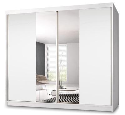 шкаф - купе МУЛЬТИ 13 233 см с зеркалом + полки