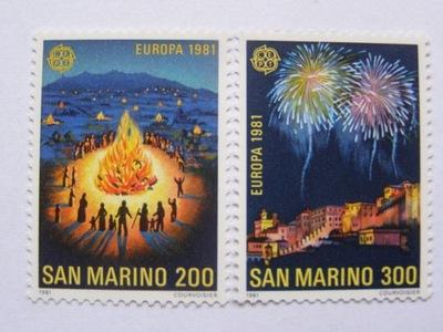 ??? - Марино - Europa CEPT 1981 - Мне. 1225-26 **