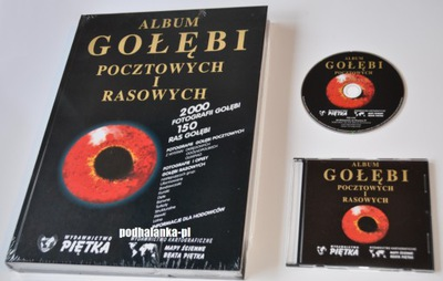 Album Gołębi Pocztowych i Rasowych + płyta CD