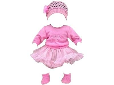 suit BABY BORN bábiku BABY šaty BUNDA 306
