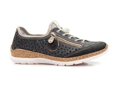 półbuty damskie RIEKER 38 zdrowotne sportowe buty