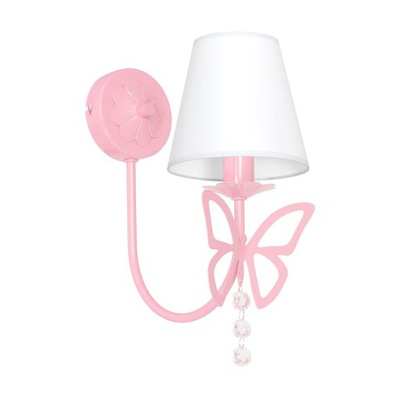 Svietidlá do detskej komory - MILAGRO CHARLOTTE 4215 sconce E14 baby pink