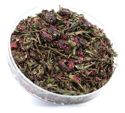 зеленый ??? ЦВЕТЕНИЕ Вишня хороший чай сенча 50 г