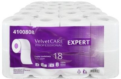 бумага туалет Velvet Care EXPERT 3 СЛОЯ 40sz