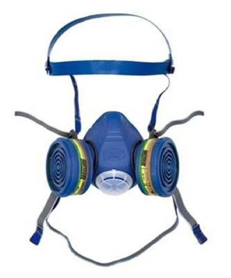 маска półmaska газовая SPASCIANI DUO ABEK1 фильтры