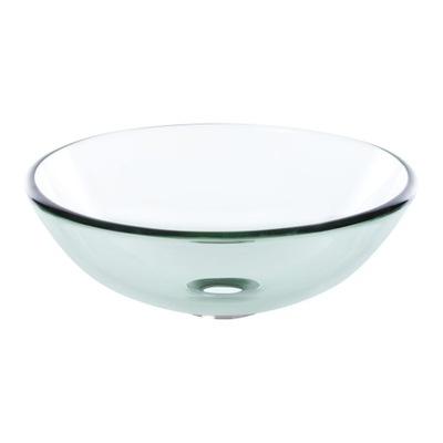 Okrúhle sklenené umývadlo na dosku FI 38 KERRA