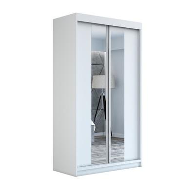 шкаф купе ? зеркалом гардероб белая NEO120