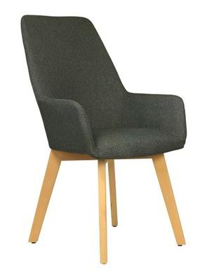 Мягкий стул с подлокотниками Nord dark
