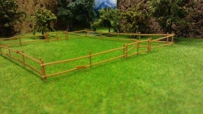 Забор забор и загон для животных H0 Eaglemoss