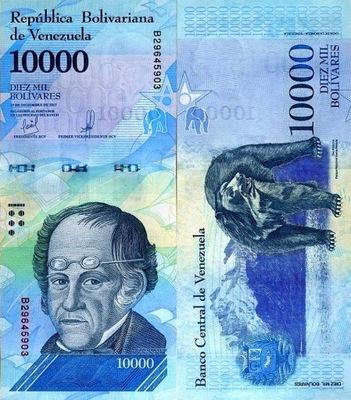# ВЕНЕСУЭЛА - 10000 BOLIVARES -2017 - UNC ??? . B555