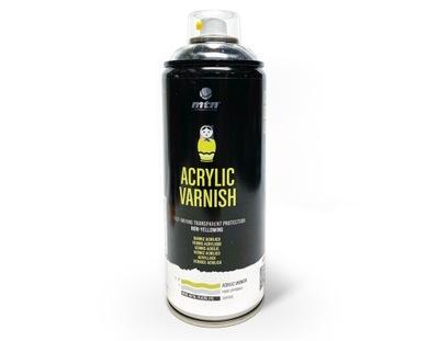 Lakier Akryl Bezbarwny Satynowy spray 400 ml MTN