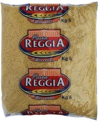 Макароны паста Reggia нитки 5кг ??? полностью итальянский