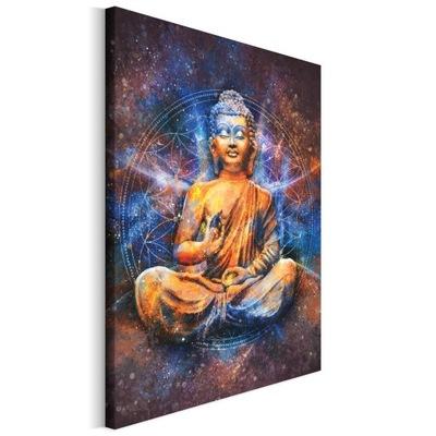 Maľovanie na plátno pre obývacia izba Sošku Budhu