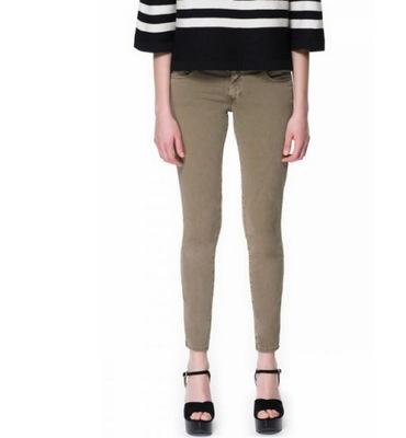 1ca569a70c16 ZARA Woman spodnie rozmiar 34 jeansowe - 6014852677 - oficjalne ...