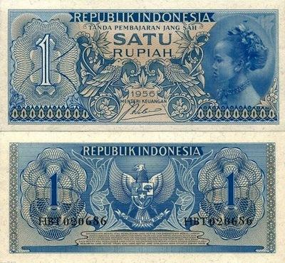 # ИНДОНЕЗИЯ - 1 ИНДИЙСКАЯ - 1956 - P74 - UNC