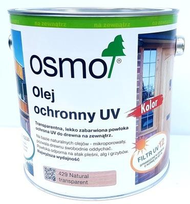 Osmo prírodný Olej 429 UV Extra 2.5 l Vlhké Drevo