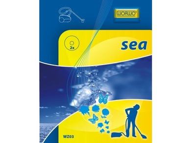 Wkład zapachowy do odkurzacza Worwo WZ03 morski