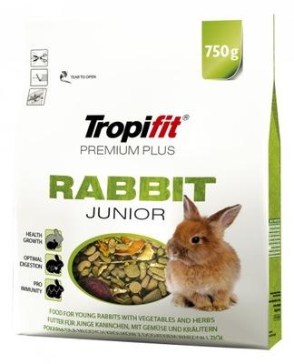Tropifit премиум плюс Кролик-Младший корм 750 г