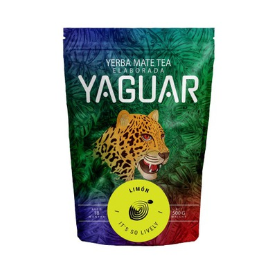 Yerba Mate Yaguar Лимон Лимонное Ноль ,5 кг 500?