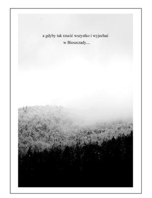 A4 ПЛАКАТ скандинавский горы, ЛЕС, ПРИРОДА