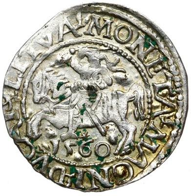 + Półgrosz Лит 1560 Сигизмунд II Август серебро