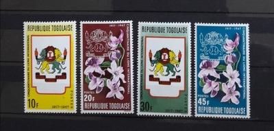 Togo 1967, Mi 594-597