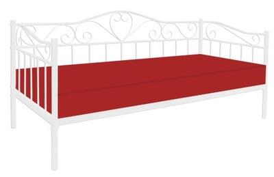 кровать металлические с держателем Кровать 90х200