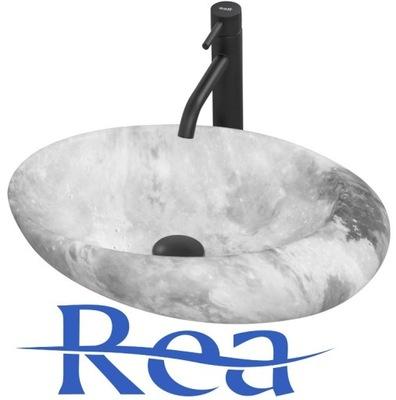 Keramické umývadlo Overtop ROXY L. STONE GREY
