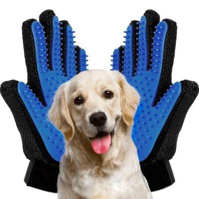 перчатки правая -Слева для РАСЧЕСЫВАНИЕ ШЕРСТИ КОШКИ, СОБАКИ