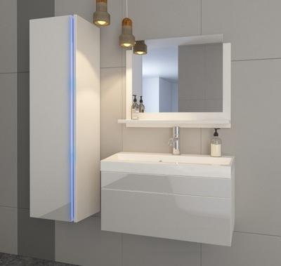 Мебель для Ванной комнаты комплект Умывальник 60 Белый SHINE