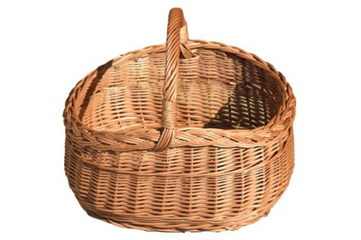 Корзина плетеный покупками для пикника КОРЗИНА Грибы
