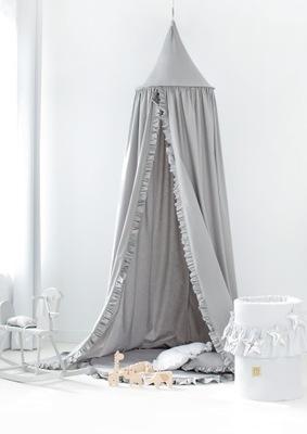 Bavlnená posteľná prehrabať FARBU z OKNA