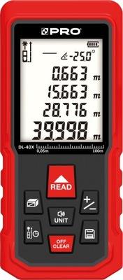 Pro laserový diaľkomer DL-40