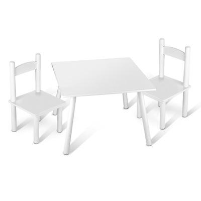 Столик детский + 2 Стульчики Белый # 102/244162